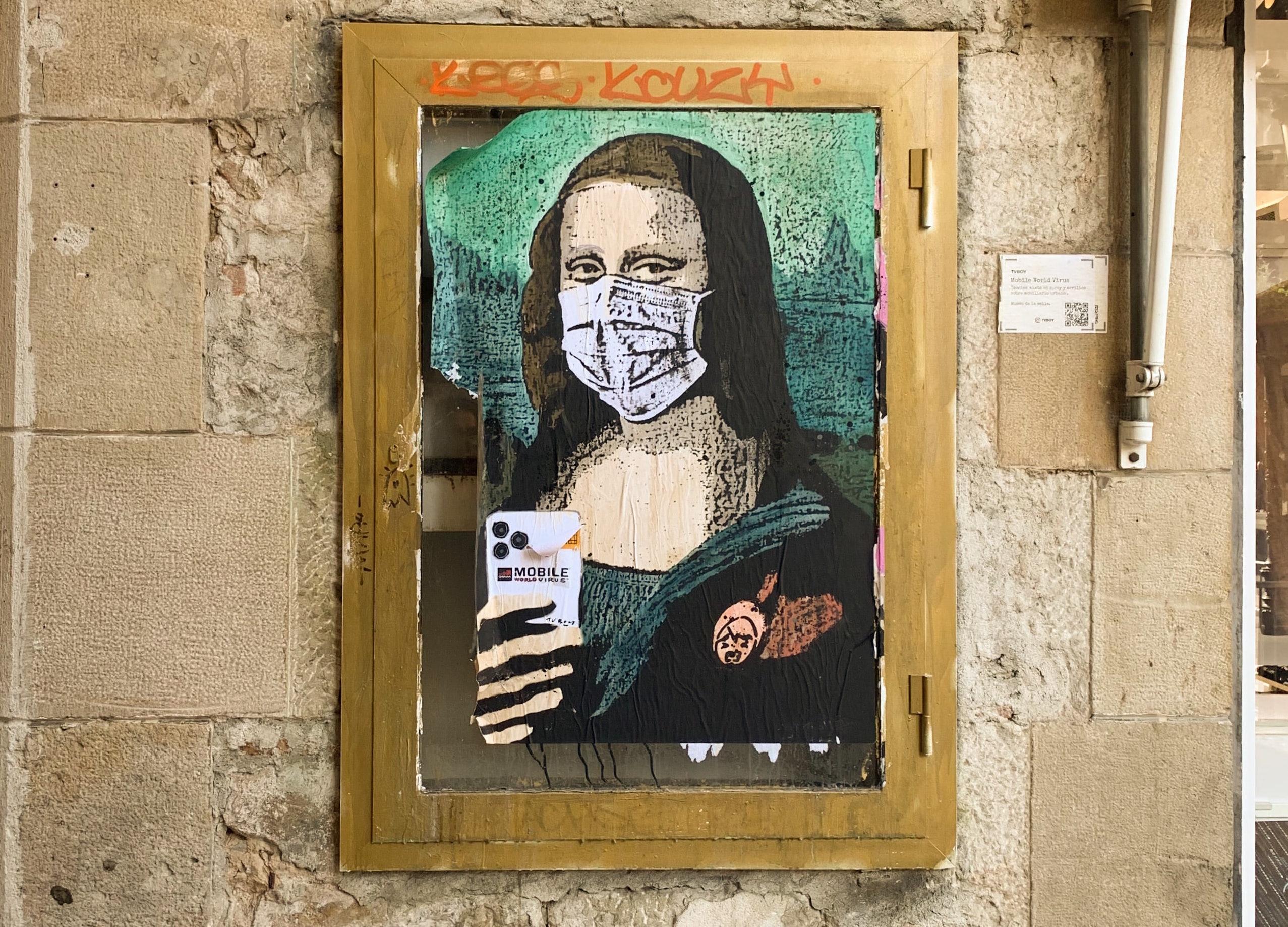 Le street art à l'heure du confinement